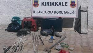 Kırıkkale'de defineciler yakalandı