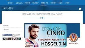 Erolcan Çinko Trabzonspor Medicalpark'ta