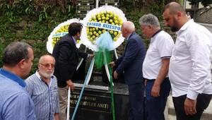 Çaykur Rizespor ve Atiker Konyaspor yöneticileri, 15 Temmuz şehitlerini andı