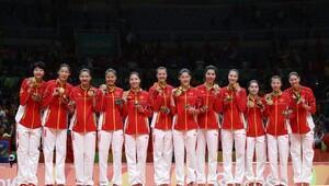 Kadınlar voleybolda şampiyon Çin