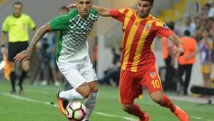 Kayserispor - Akhisarspor maçı ek fotoğraflar