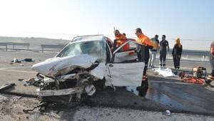 Kütahya'da kaza: 3 ölü