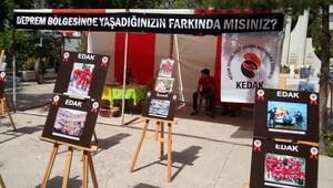 EDAK ve KEDAK, Keşan'da deprem fotoğrafları sergisi açtı