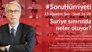 #SoruHürriyeti'nin bugünkü konuğu Murat Yetkin