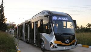 İlk yerli metrobüs üretildi! Dünyanın en büyüğü
