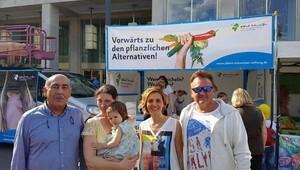 Didimli temsilciler, 'Vegan Kenti Didim' için Berlin'i ziyaret etti