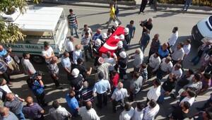 Şehit polis Sönmez, Elazığda son yolculuğuna uğurlandı