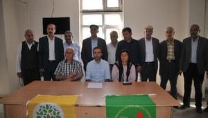 Yüksekova'da HDP ve DBP'den Gaziantep kınaması