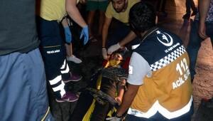 Zonguldak yolcu minibüsü devrildi: 4 yaralı