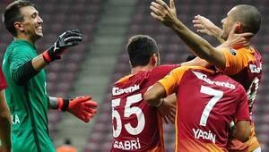 Galatasaray, Karabüksporu Eren Derdiyokun golü ile geçti (Maç özeti)