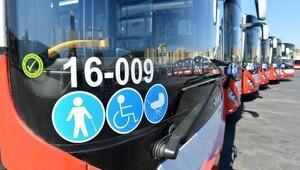 100 körüklü otobüsün 157i geldi