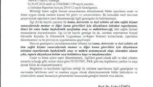 Memura rapor veren doktora 'PKK- FETÖ' uyarısı