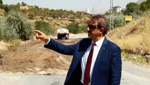 Hacılar'da asfalt çalışmaları sürüyor
