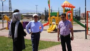 Başkan Çolakbayrakdar, Kocasinan'ın daha yeşil bir alan olması için çalışıyor