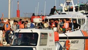 Dikili'de 54 kaçak yakalandı