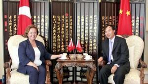 Dikmen'den Çin Başkonsolosu'na ziyaret