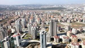 Ankara, 5.3 milyon metrekare ile 2'nci
