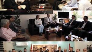 Başkan Çelik, AK Parti, CHP ve MHP'yi ziyaret etti