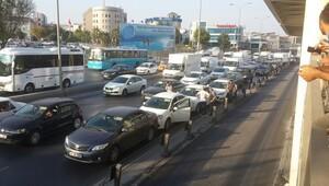 Az önce oldu: İstanbul'da zincirleme kaza
