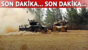 Harekat başladı, IŞİD vuruluyor