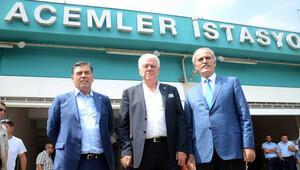METRO İSTASYONUNA BURSASPOR ADI VERİLDİ
