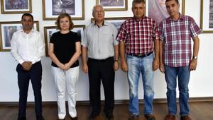 Üçkuyular Muhtarı'ndan Başkan Selvitopu'na teşekkür
