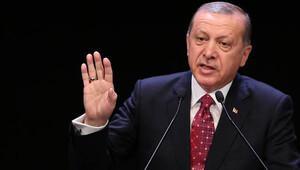 Erdoğan'ın bu sözleri uzun süre alkışlandı