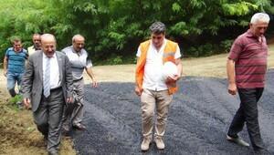 Başkan Gümrükçüoğlu: Kar yağana dek yol çalışmalarına devam edeceğiz