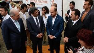 fotoğraflar// Etnospor Kültür Festivali başlıyor..Basın toplantısı BakanKılıç ve bilal Erdoğan katıldı