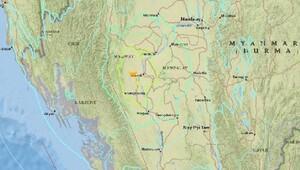 Burma'da 6.8 büyüklüğünde deprem meydana geldi