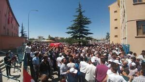Şehit polis Şimşek'i, Çumra'da 5 bin kişi uğurladı - ek fotoğraflar