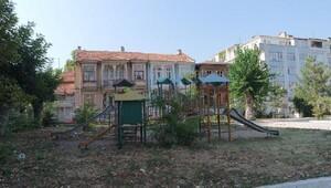 Edirne'de Cumhuriyet parkı yenileniyor