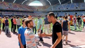 Öğrencilerden, Kadir Has Stadyumu'nu ziyaret