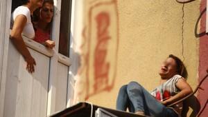 Krizine giren genç kadın intihara kalkıştı