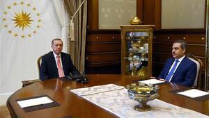 Cumhurbaşkanı Erdoğan MİT Müsteşarı ile görüştü