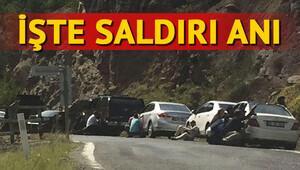 Kılıçdaroğlu'na saldırı anı kameralarda