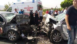Malatya-Kayseri karayolunda kaza: 4 ölü, 1 yaralı