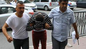 Eşcinsel ilişki teklif eden adama gasp şüphelisi yakalandı