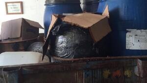 Tokat'ta 1025 litre kaçak rakı ele geçirildi