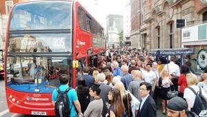 Londra'da otobüs şoförleri bugün grevde
