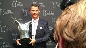Avrupa'da yılın futbolcu seçildi!
