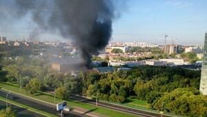Moskova'da yangın: 16 ölü