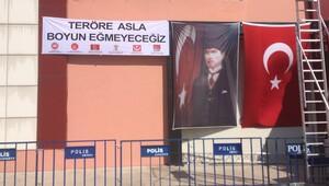 Kılıçdaroğlu için anlamlı pankart