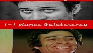 Akhisar-Galatasaray maçı caps'leri