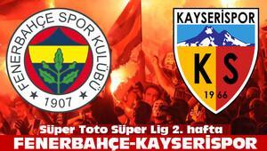 Fenerbahçe Kayserispor maçı saat kaçta?