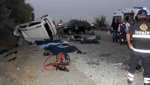Adıyaman'da korkunç kaza! 7 ölü var