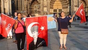 Köln'lü CHP'liler, Kılıçdaroğlu'na saldırıyı kınadı