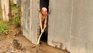 Zonguldak'ta bodrum katları sular altında kaldı