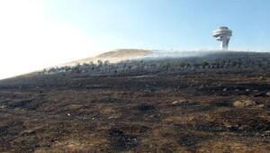 Atlama Kululeleri'nin bulunduğu Kiremittepe'de yangın