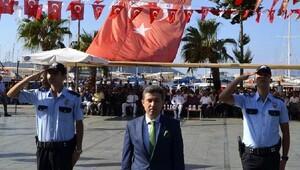 Kaş'ta 30 Ağustos Zafer Bayramı kutlandı